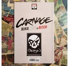 Carnage: Black, White, & Blood 2nd ptg Gleason Virgin Variant