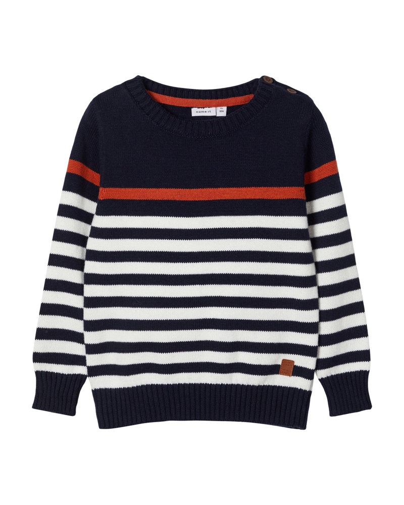 NAME IT - BOYS NMMOCTOPUS LS KNIT