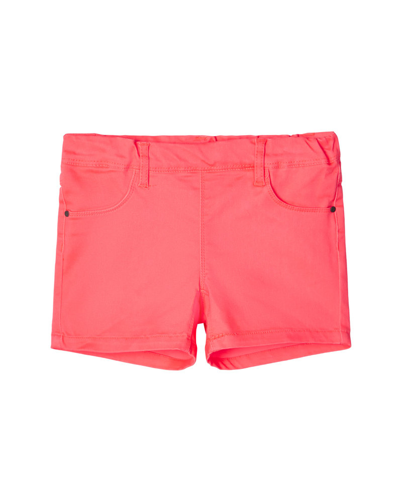 NAME IT - GIRLS NKFSALLI TWIBATINNA SHORTS NEON