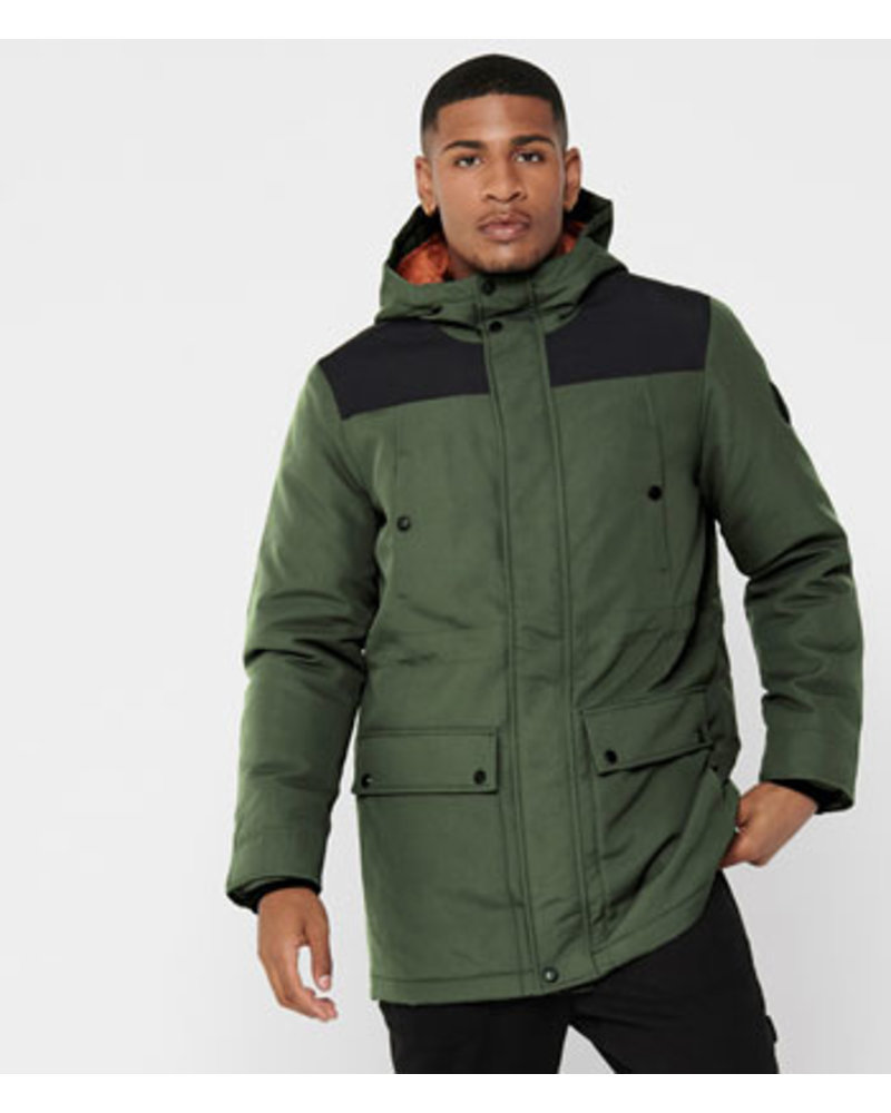ONLY & SONS ONSPETER TECHINCAL PARKA OTW NOOS