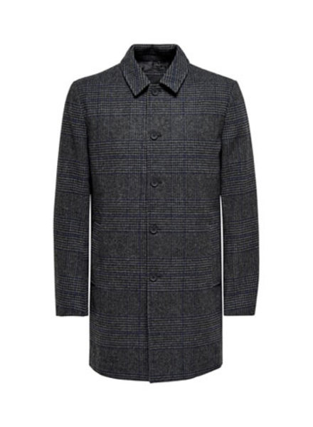 ONLY & SONS ONSADAM MAXIMILLIAN CHECK COAT OTW VD