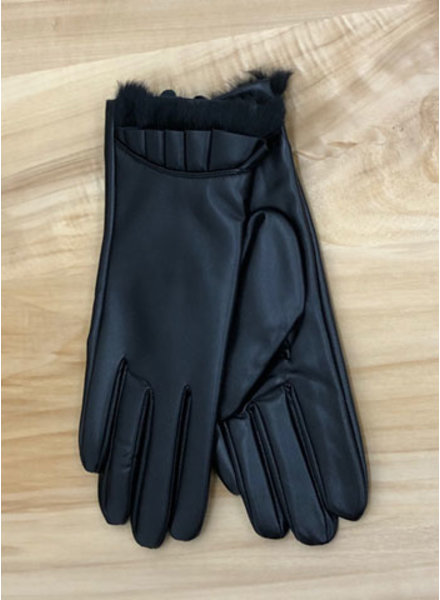 THE BRANDE GROUP THE BRANDE GROUP - GLOVES-LEATHER 1 - BLACK