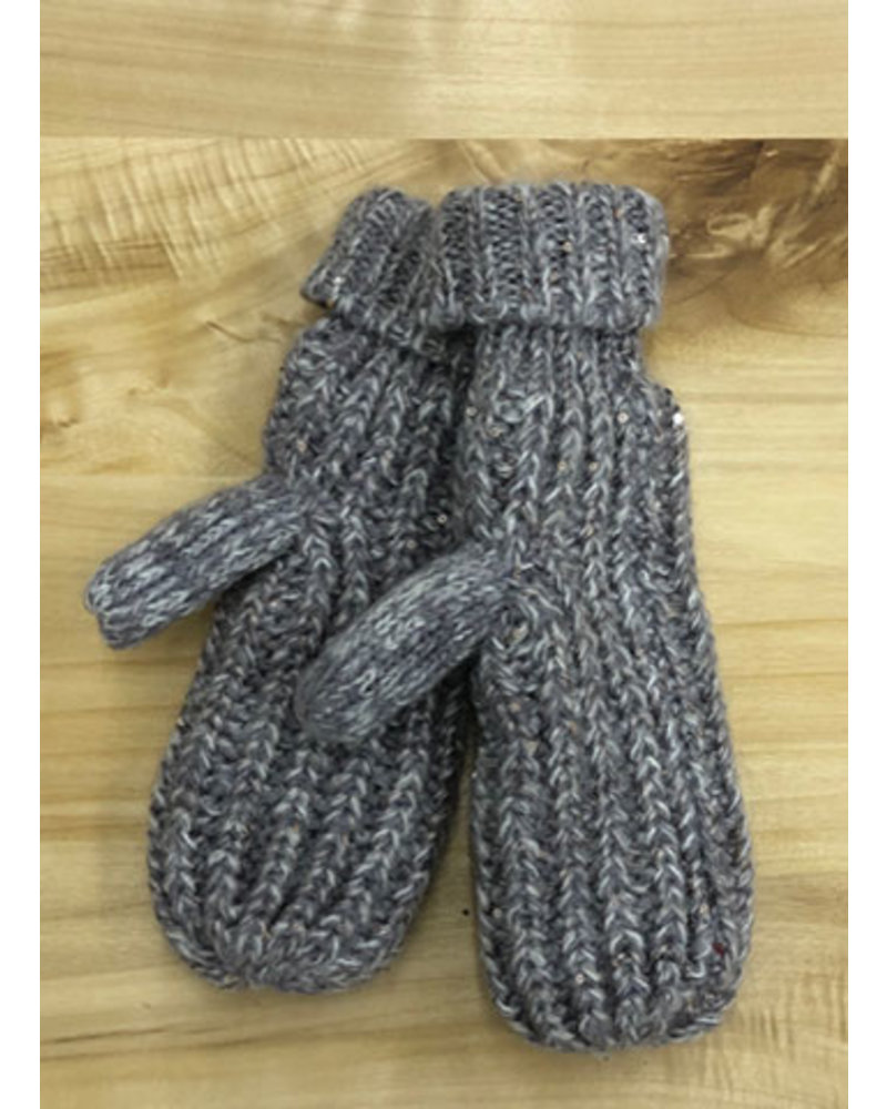 THE BRANDE GROUP THE BRANDE GROUP - GLOVES-mitaines 1 - GREY MELANGE