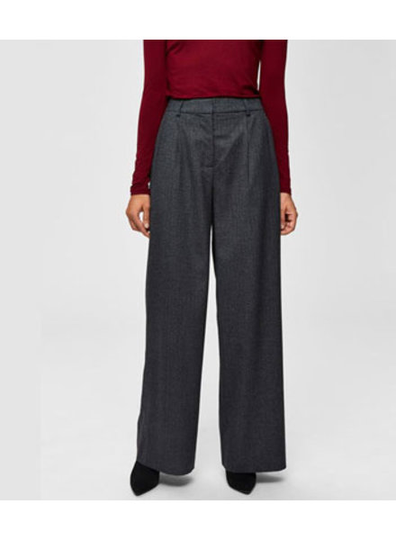 SELECTED FEMMES SLFNELLIE HW WIDE PANT B