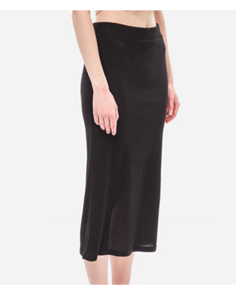 PIECES PCMOLLY MIDI SKIRT D2D PB