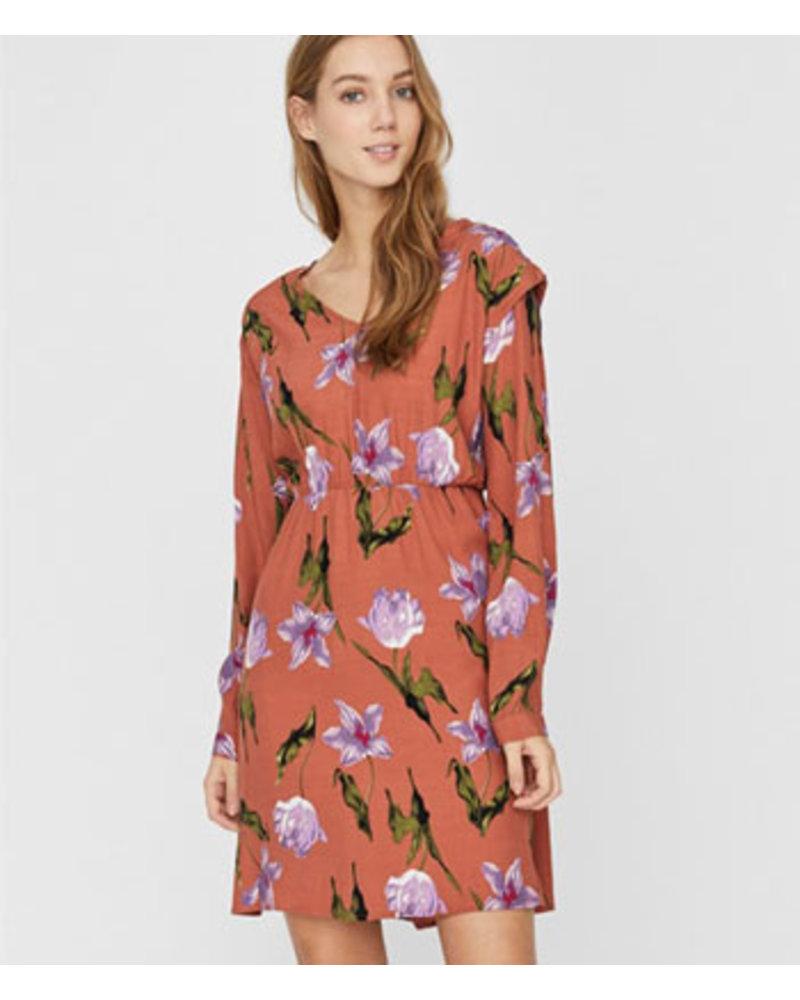 VERO MODA VMBETTY L/S SHORT DRESS WVN GA
