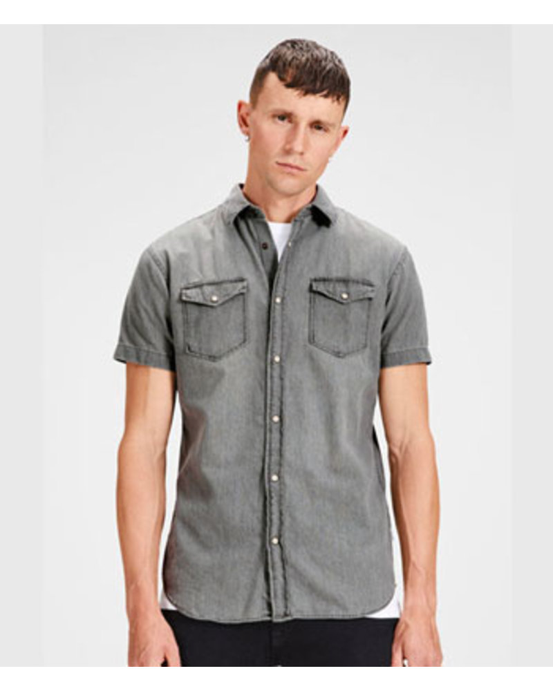 JACK & JONES JORSHERIDAN SHIRT SS WESTERN NOOS