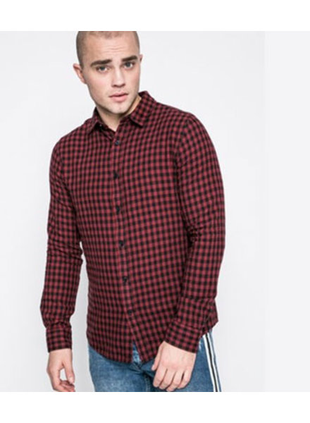 ONLY & SONS onsTHIERY LS CHECK SHIRT