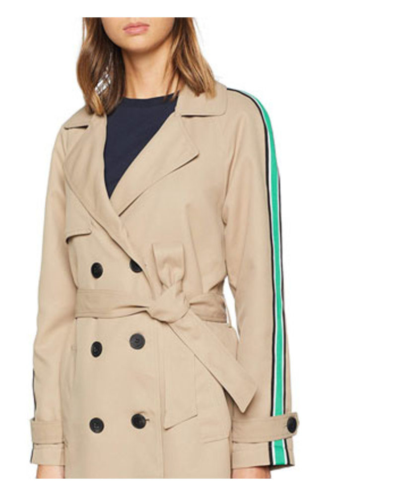 VERO MODA VMSPICE LONG TRENCH COAT KI