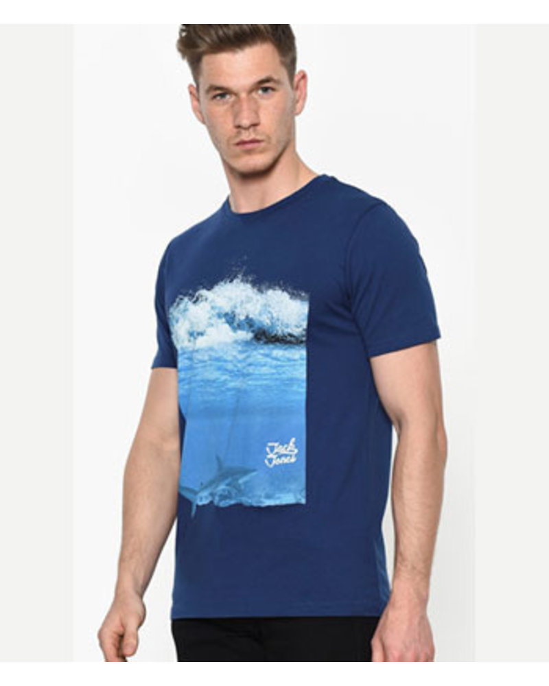 JACK & JONES JORHORIZONS TEE SS CREW NECK
