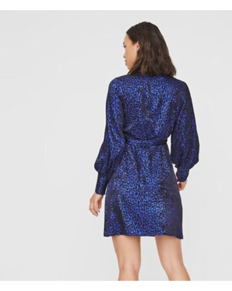 VERO MODA VMDAKOTA L/S SHORT WRAP DRESS