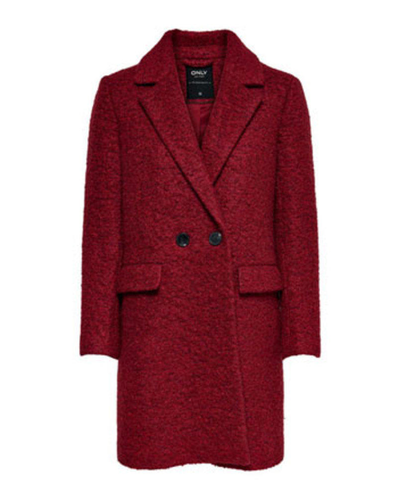 ONLY ONLALLY BOUCLE WOOL COAT CC OTW