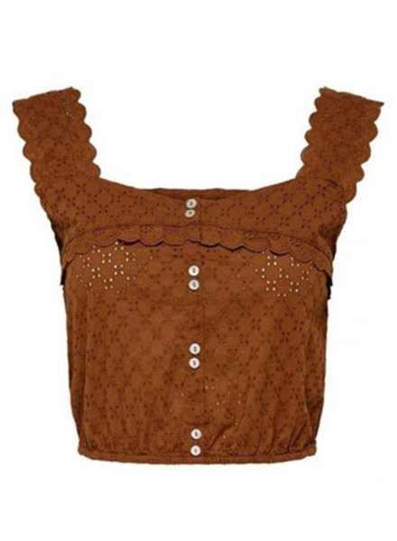 ONLY ONLFBELA LIFE CROPPED TOP WVN