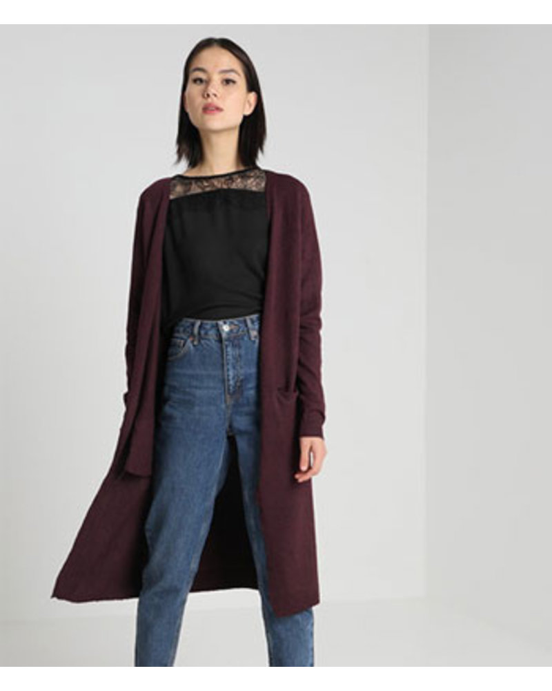 VERO MODA VMBRILLIANT LS LONG OPEN CARDI