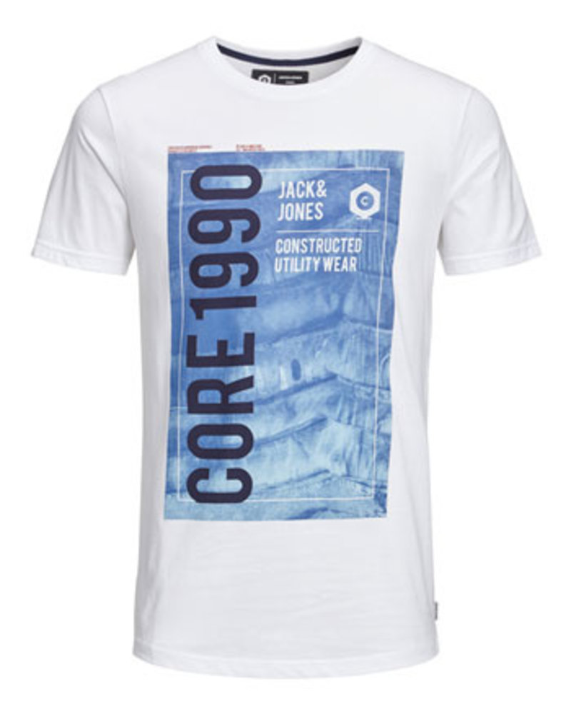 JACK & JONES JCOJORDAN TEE SS CREW NECK