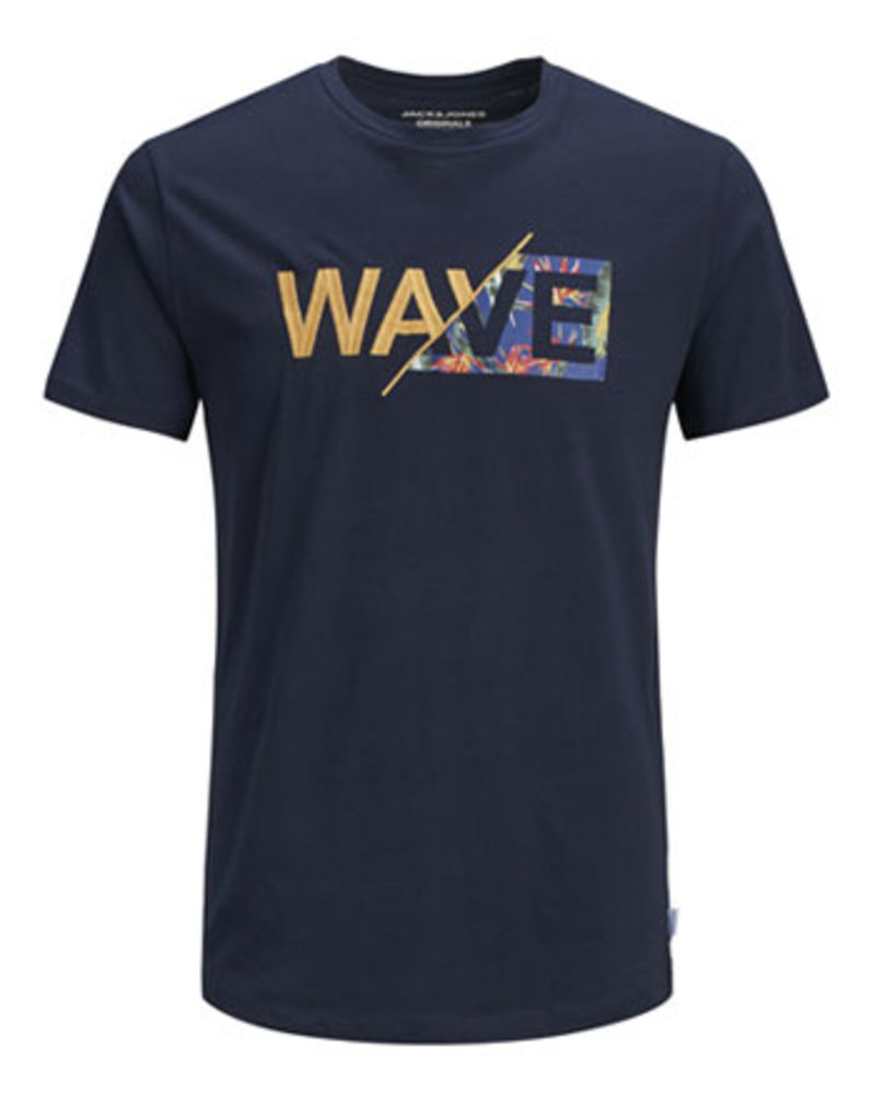 JACK & JONES JORWAVY TEE SS CREW NECK