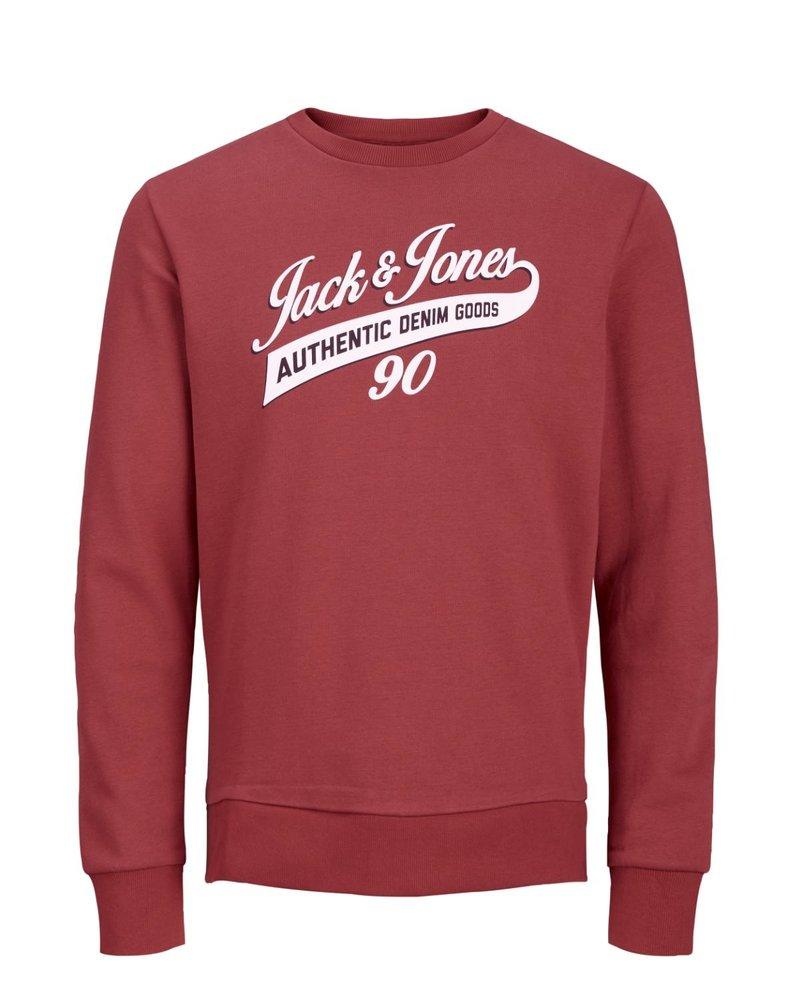 JACK & JONES JJELOGO SWEAT CREW NECK TWO COLOR NOOS