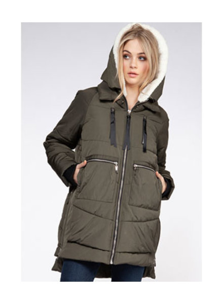 DEX HOODED PARKA JACKET