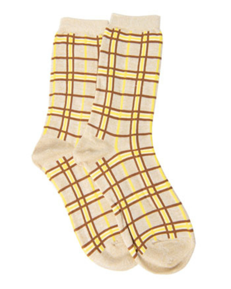 SELECTED FEMMES SLFVIDA SOCK B Stripes:LUREX STRIPES