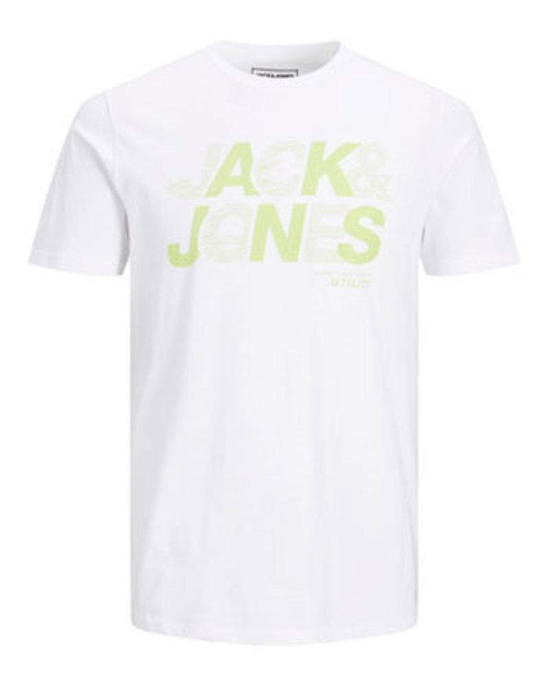 JACK & JONES JCOWIRE TEE SS CREW NECK FST