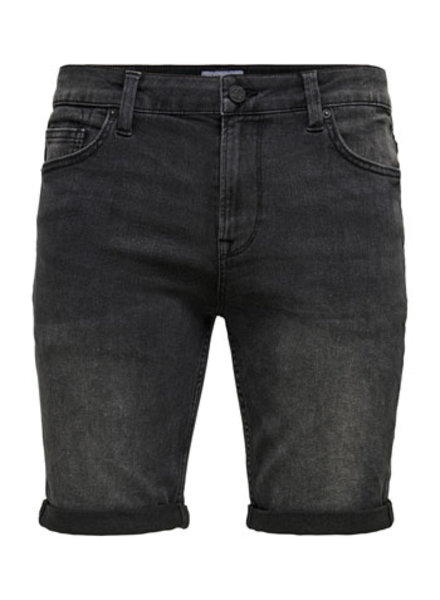 ONLY & SONS ONSPLY LIFE REG BLACK PK 9064