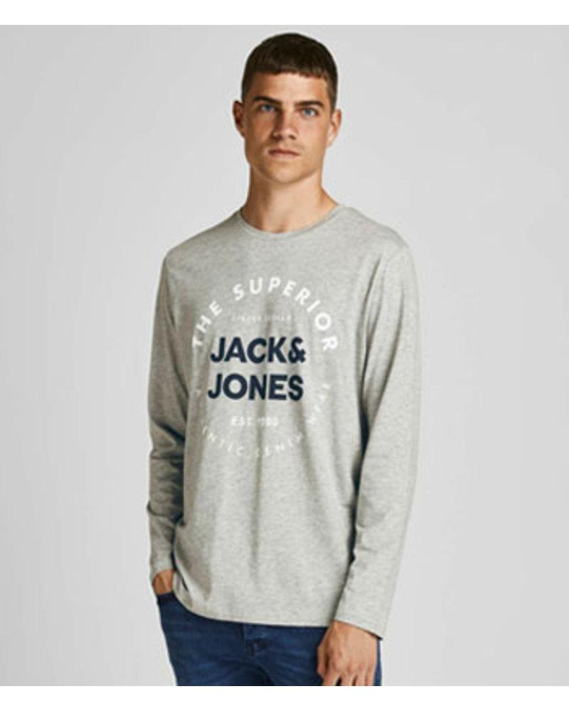 JACK & JONES JJHERRO TEE LS CREW NECK