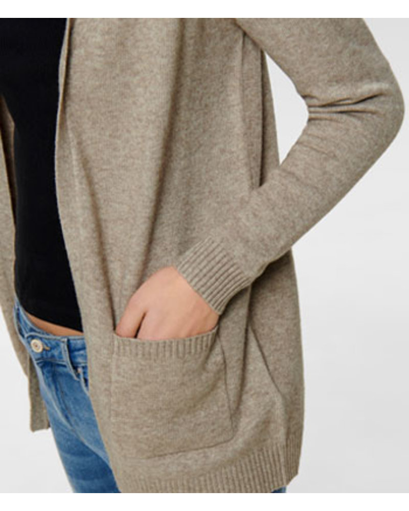 ONLY ONLLESLY L/S OPEN CARDIGAN KNT NOOS