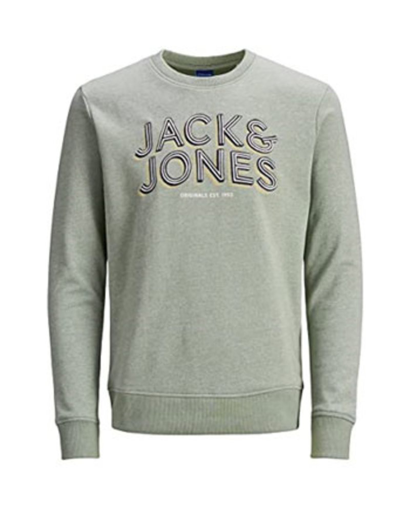 JACK & JONES JORVENICEBEACH SWEAT CREW NECK