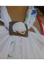 Sundrenched Coconut Sarong Buckles