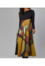 Little Secrets Retro Print Dress