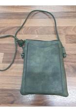 Ivys Khaki small crossover/shoulder bag