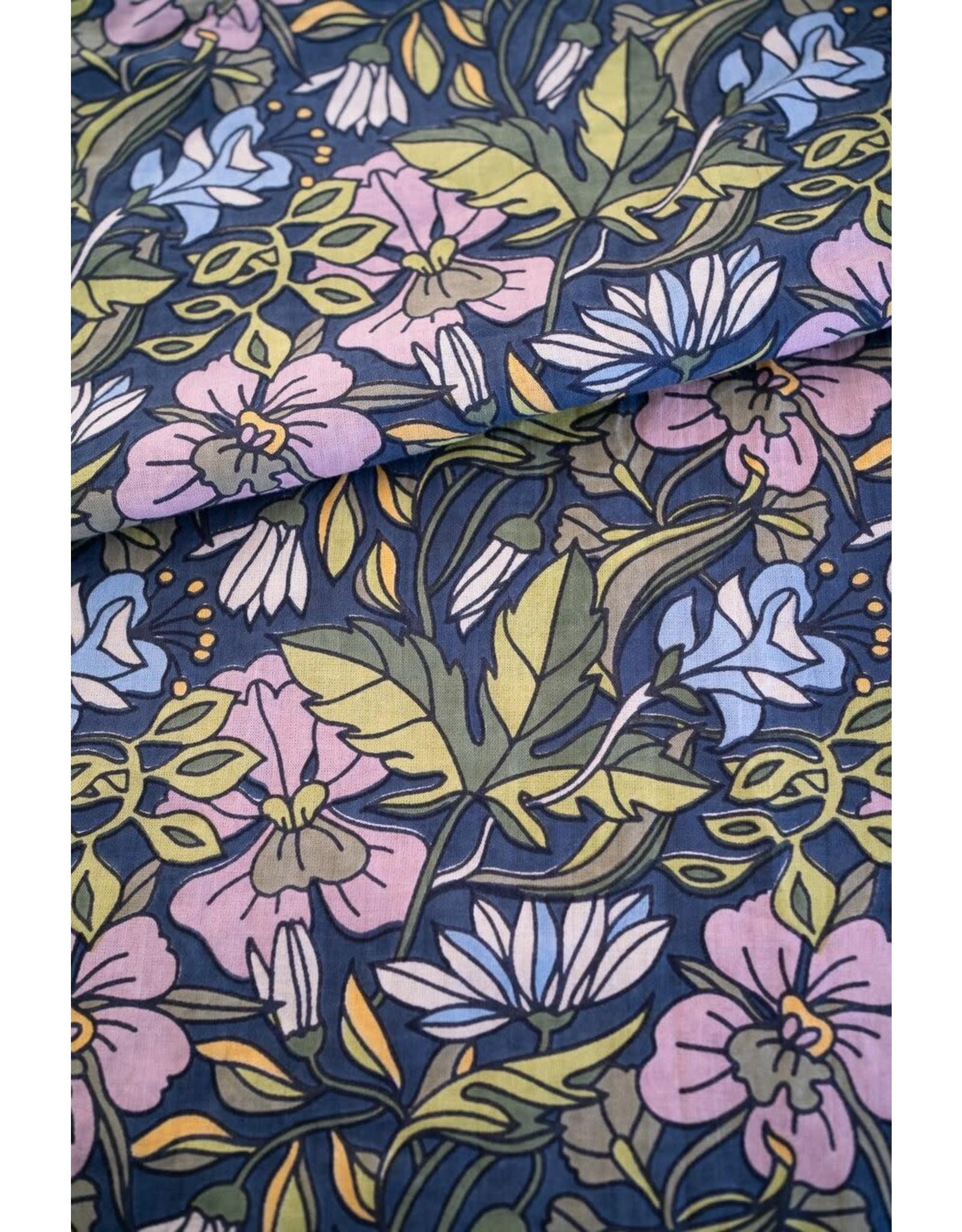 Mahashe Flare Trousers - Hibiscus