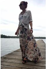 Savarna Tribe Maxi Wrap Skirt