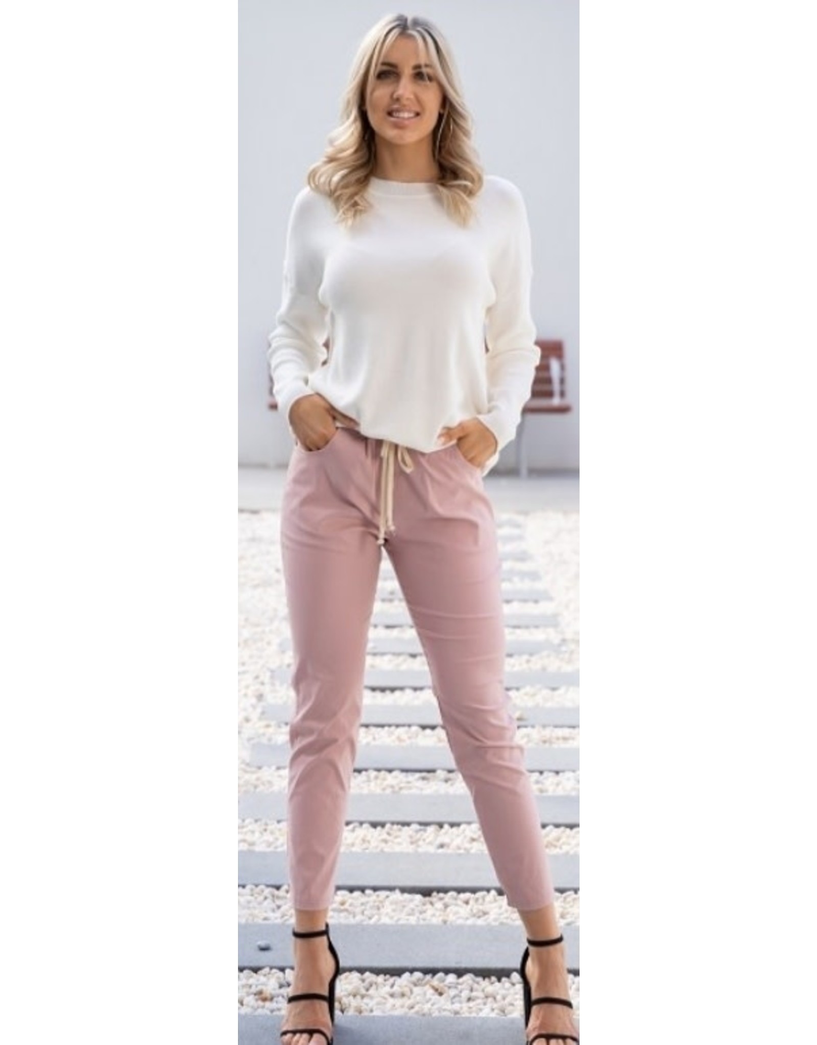 Willow Tree Round neck ribbed Top