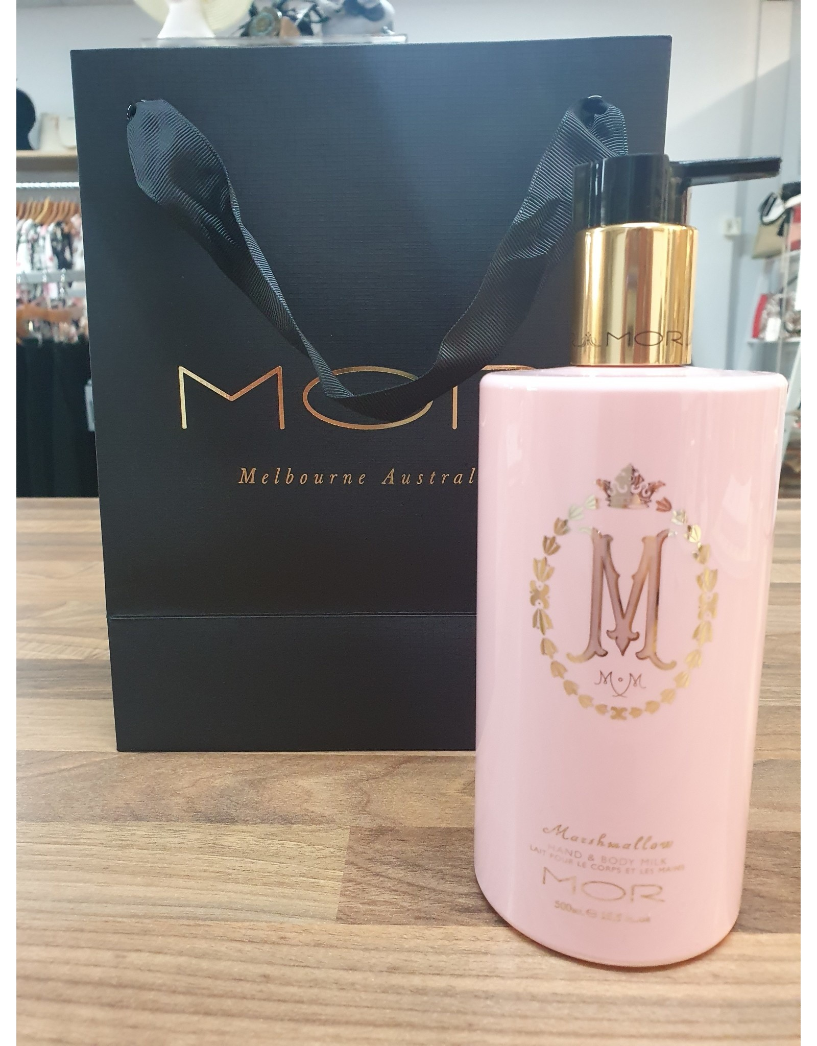 MOR AUSTRALIA Marshmallow Hand & Body Milk 500ml