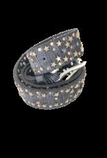 Art n Vintage Navy Star Belt