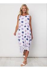 Clarity Spot Sleeveless Dress