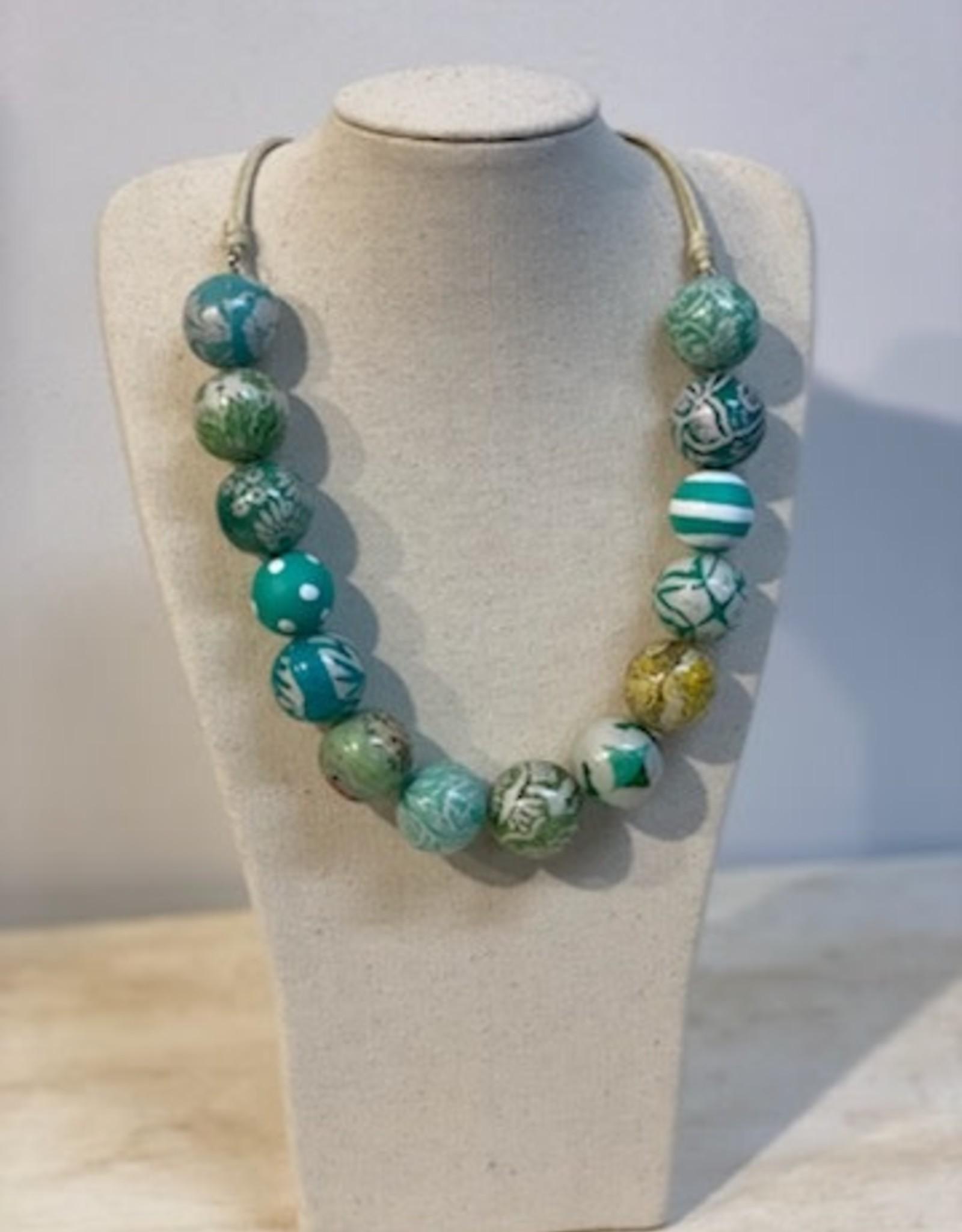 Anna Chandler Design Patchwork Necklace