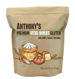 Anthonys Goods Anthonys Goods - Premium Vital Wheat Gluten (4lb)