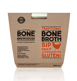 Bone Brewhouse Bone Brewhouse - Bone Broth, Chicken & Vegetable (600ml)