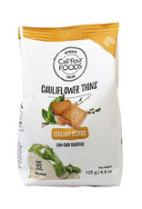 Califlour Foods Califlour Foods - Cauliflower Thins, Italian Herb (125g)