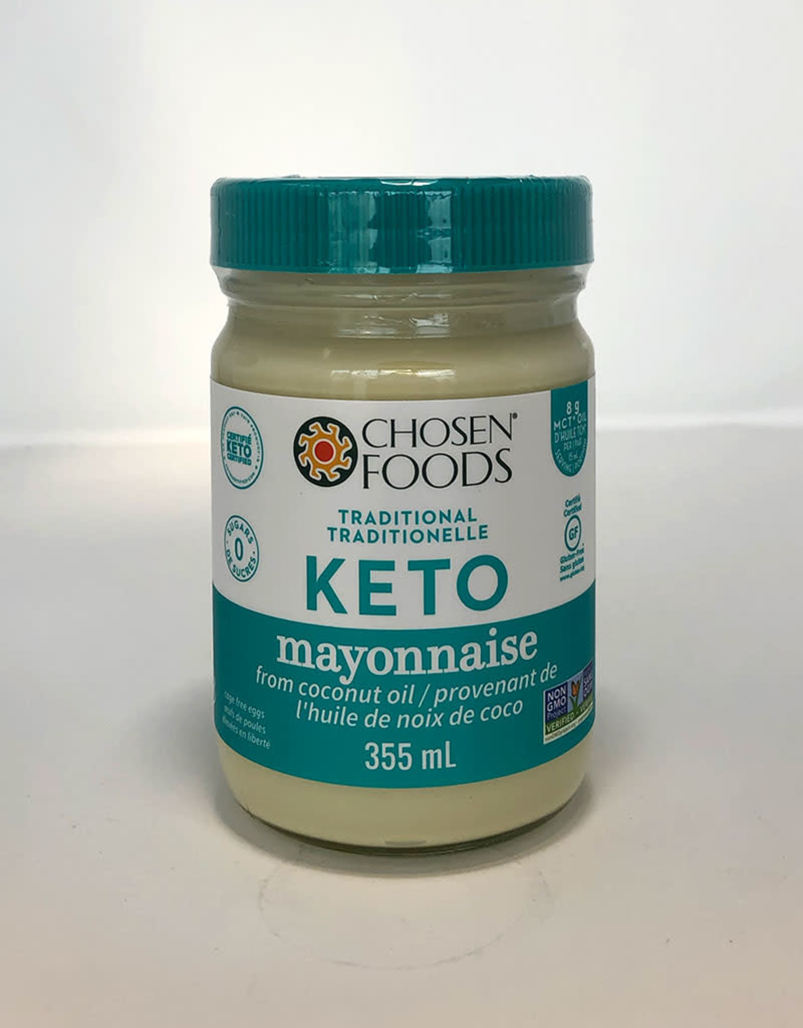 Chosen Foods Chosen Foods - Keto Coconut Oil Mayo, Traditional (355ml)