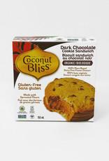 Coconut Bliss Coconut Bliss - Ice Cream Cookie Sandwich, Dark Chocolate (155ml)