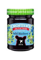 Crofters Organic Crofters Organic - Just Fruit Spread, Wild Blueberry (235ml)