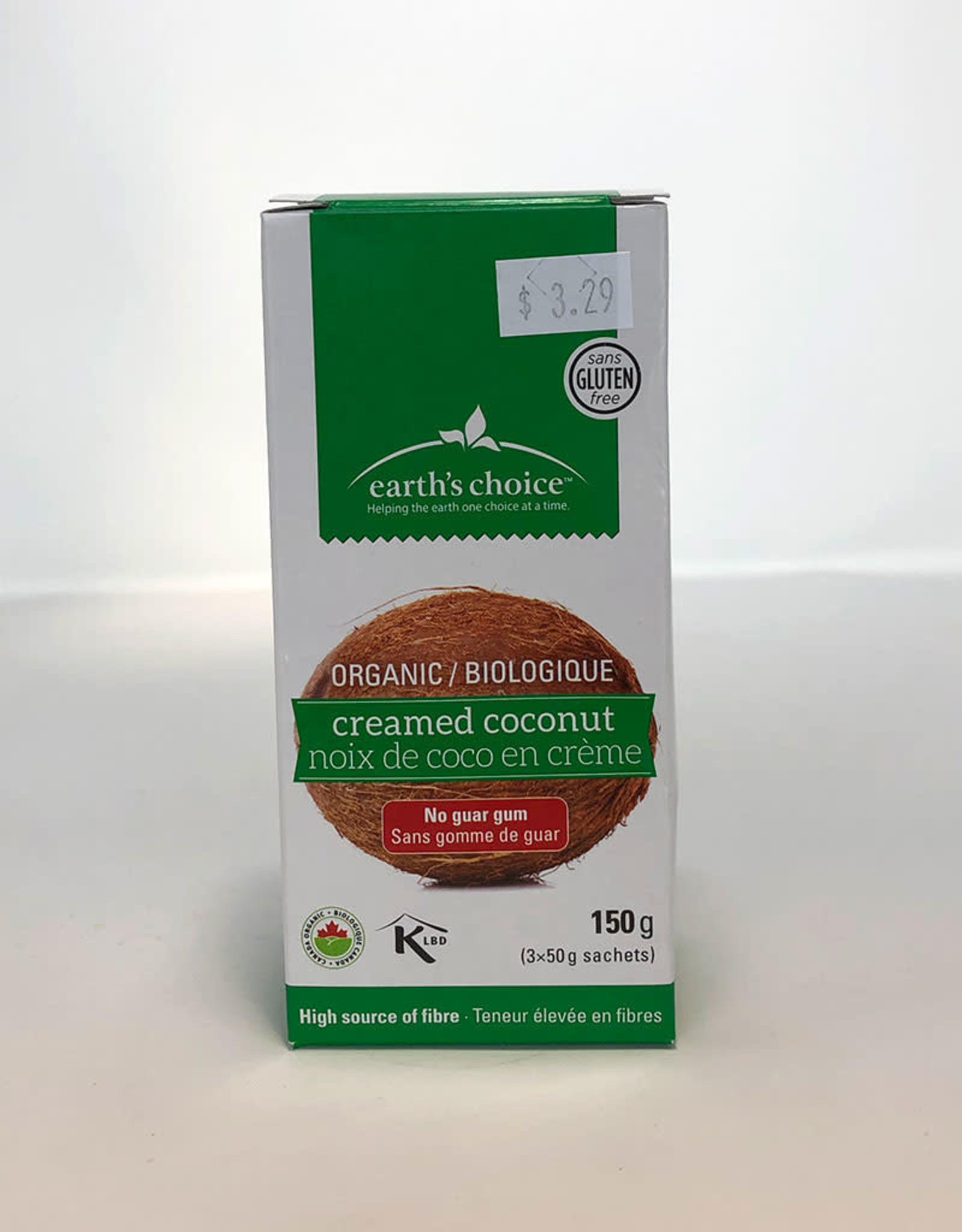 Earths Choice Earths Choice - Organic Creamed Coconut, Packets (150g)