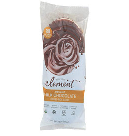 Element Element - Dipped Rice Cakes, Milk Chocolate (100g)