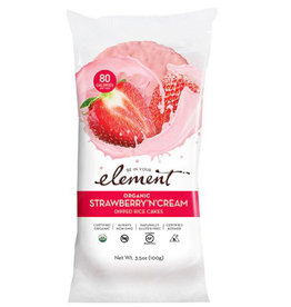 Element Element - Dipped Rice Cakes, Strawberry n Cream (100g)