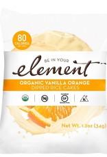 Element Element - Dipped Rice Cakes, Vanilla Orange (34g)