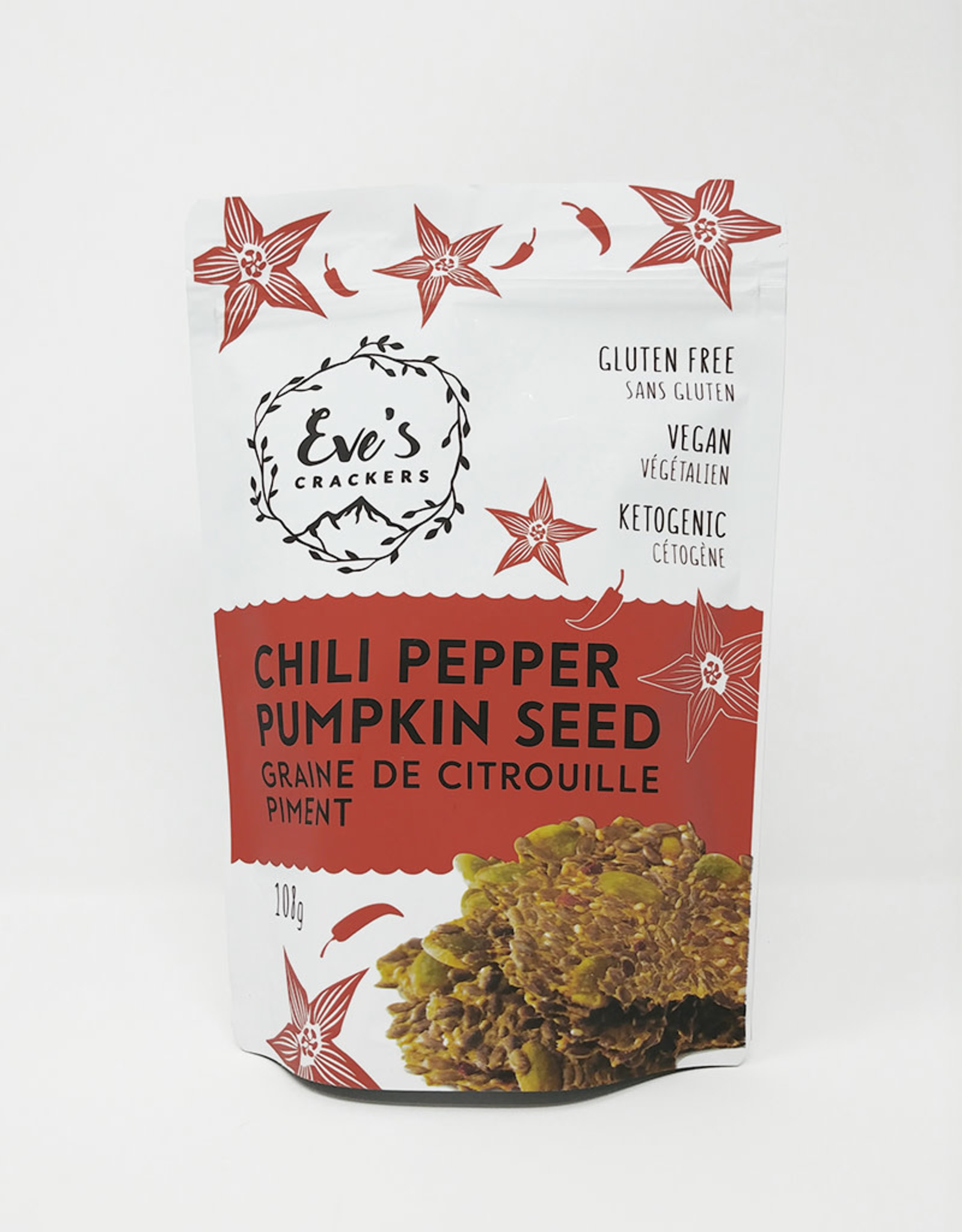 Eves Crackers Eves Crackers - Chili Pepper Pumpkin Seed