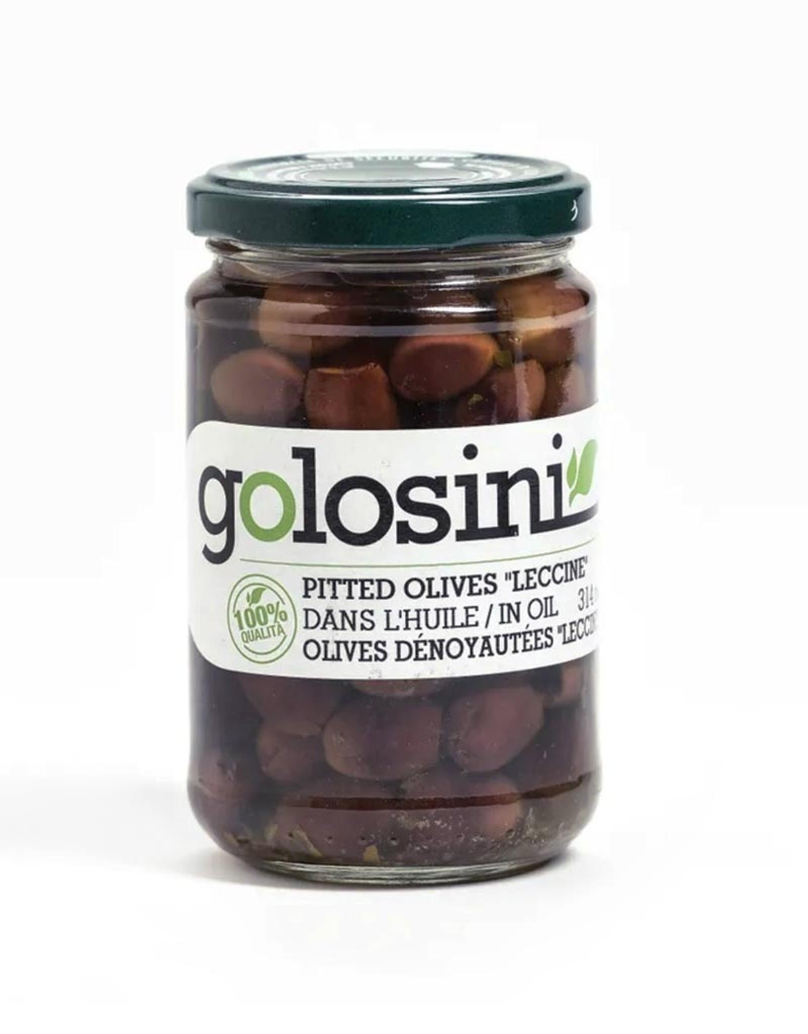 Golosini Golosini - Green Pitted Olives (314ml)